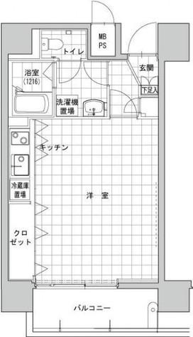ヴィータローザ横浜吉野町 / 1001 部屋画像1