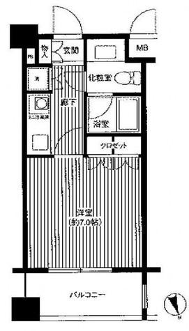 フォレシティ麻布十番 / 6階 部屋画像1