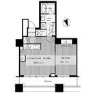 芝浦アイランドグローヴタワー / 44階 部屋画像1