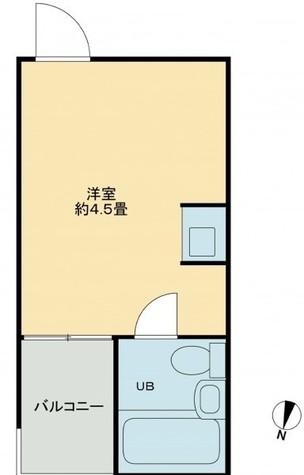 トップルーム目黒(TOPROOM) / 2階 部屋画像1
