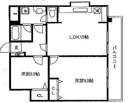 リバティーハウス / 3階 部屋画像1