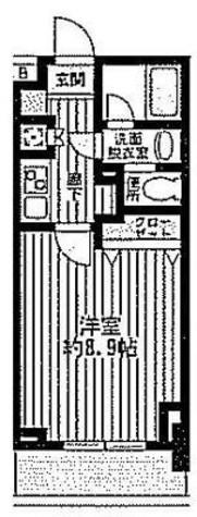 T&G神田マンション / 202 部屋画像1