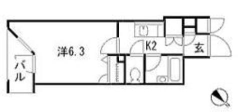 コンシェリア高井戸東 / 4階 部屋画像1