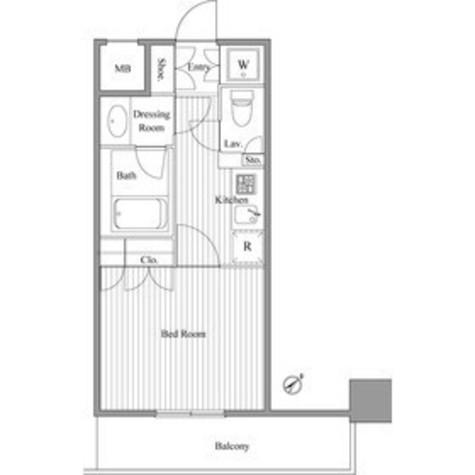 コージー・コート月島 / 8階 部屋画像1