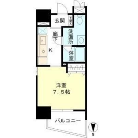 マイプレジール広尾 / 905 部屋画像1