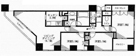 レジディア日本橋馬喰町 / 10階 部屋画像1