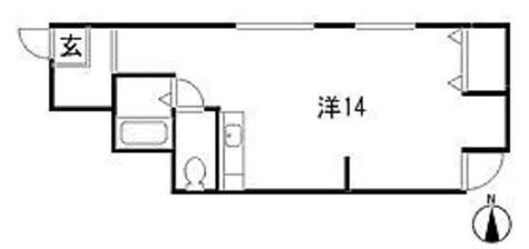 コンチェルトK / 1階 部屋画像1
