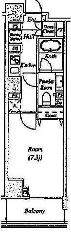 グレイスコート目黒(Grace Court Meguro) / 1階 部屋画像1