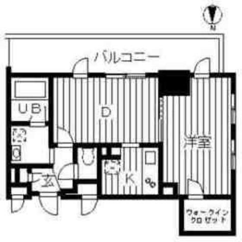 ドゥーエ幡ヶ谷(旧ウインベルプラザ幡ヶ谷) / 15階 部屋画像1