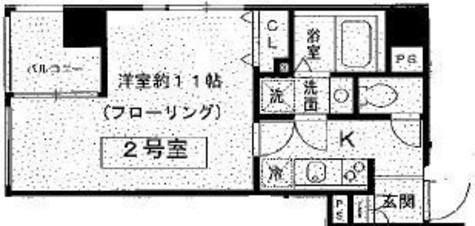 スリアン神楽坂 / 602 部屋画像1