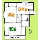 リバーコート / 203 部屋画像1