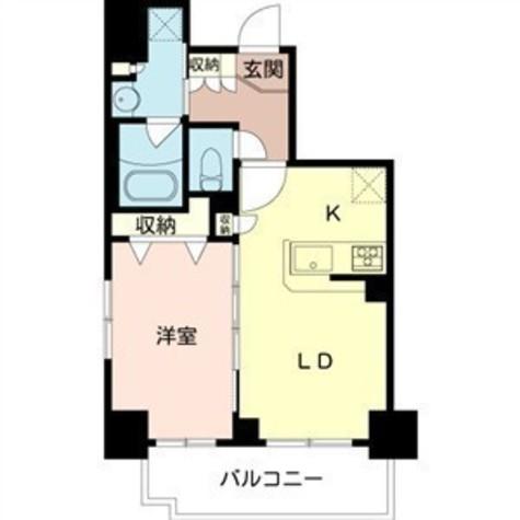 アーデン浅草橋 / 6階 部屋画像1