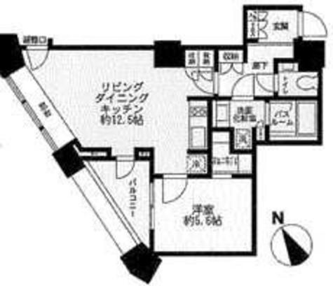 中目黒アトラスタワー / 7階 部屋画像1
