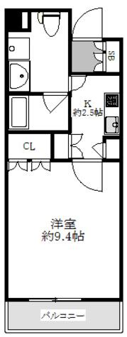 パークアクシス御茶ノ水ステージ / 1202 部屋画像1