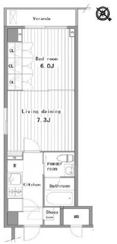 プラティーク清澄白河 / 7階 部屋画像1