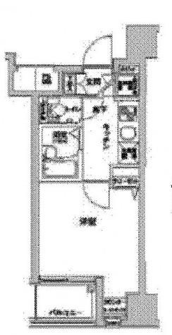 茅場町 2分マンション / 302 部屋画像1