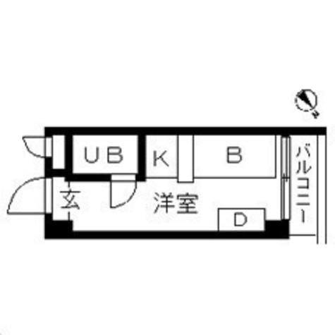 TOPROOM横浜(トップルーム横浜) / 505 部屋画像1