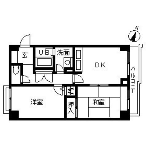 プラーズ高島町 / 203 部屋画像1