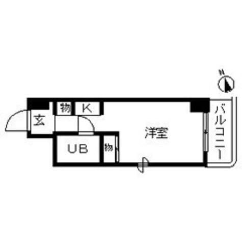 TOP仲木戸第1(トップ仲木戸第1) / 8階 部屋画像1