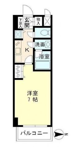 北品川アパートメント / 505 部屋画像1