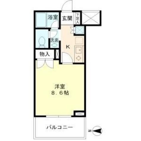 リュミエール三田 / 405 部屋画像1