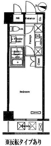 レジディア新宿イースト / 605 部屋画像1