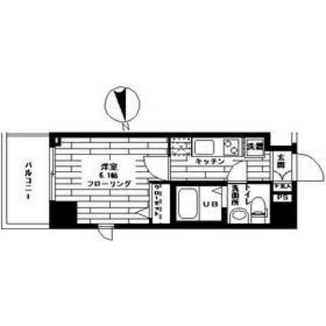 ステージグランデ高輪 / 11階 部屋画像1