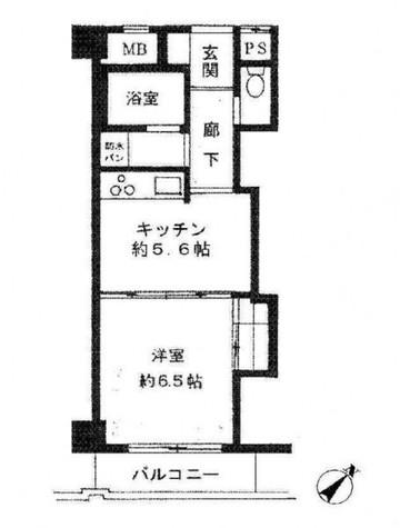 アントレ目黒東山 / 302 部屋画像1