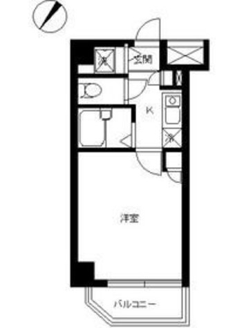 スカイコート代々木 / 804 部屋画像1