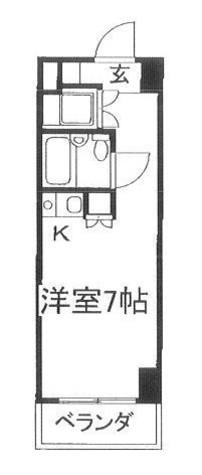 サンクレストビル / 704 部屋画像1