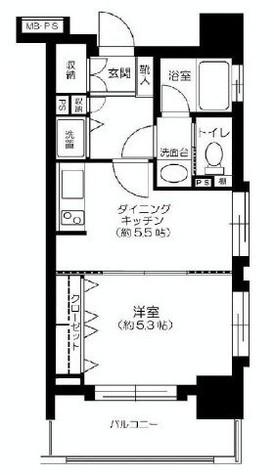 ライオンズマンション西麻布シティ / 2 Floor 部屋画像1