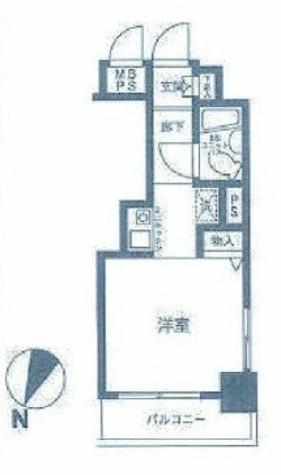 ヴァンハウス吉野町 / 9階 部屋画像1