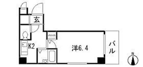 ヴォーガコルテ多摩川 / 4階 部屋画像1