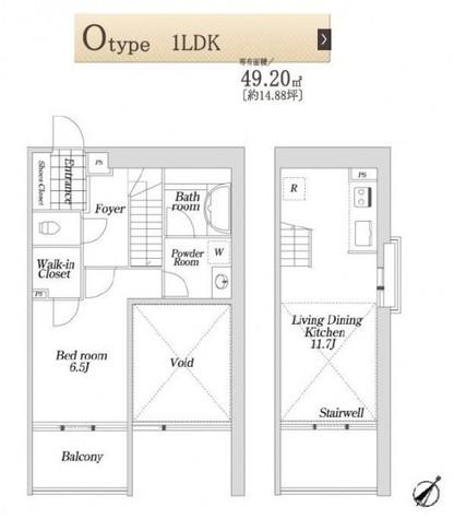 KDX大伝馬レジデンス(旧STYIM大伝馬) / 10階 部屋画像1