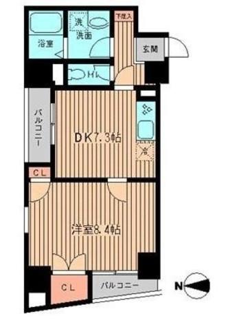 フローレンス森山 / 3階 部屋画像1