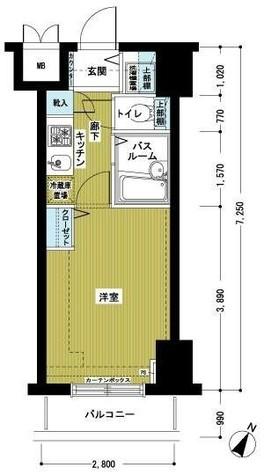 トーシンフェニックス初台弐番館 / 8階 部屋画像1