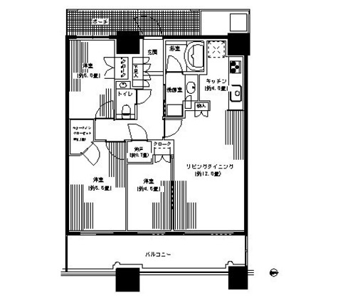 パークタワー横浜ステーションプレミア / 3010 部屋画像1