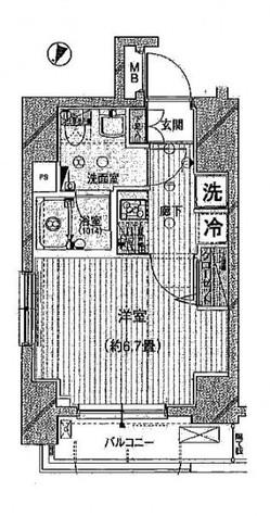 プレール・ドゥーク西横浜 / 306 部屋画像1