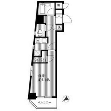 パレステュディオ白金高輪 / 8階 部屋画像1