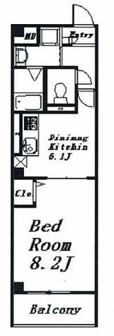 CONFORT NISHIHIRO(コンフォート ニシヒロ) / 202 部屋画像1