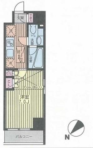 パークキューブ武蔵小杉 / 2階 部屋画像1