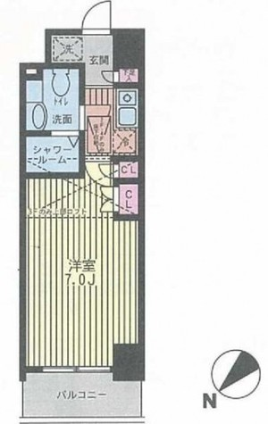 パークキューブ武蔵小杉 / 402 部屋画像1