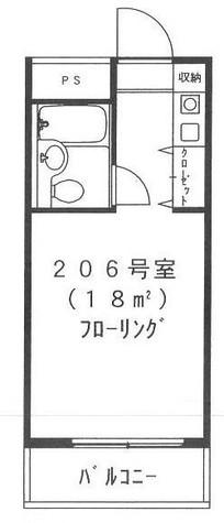 ハーベストハウス円山 / 206 部屋画像1