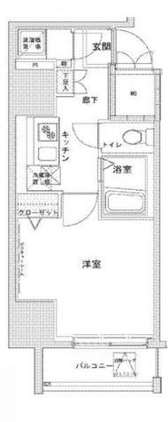 VIDA文京本郷 / 2階 部屋画像1