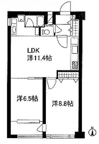 月村マンションNo.30 / 10階 部屋画像1