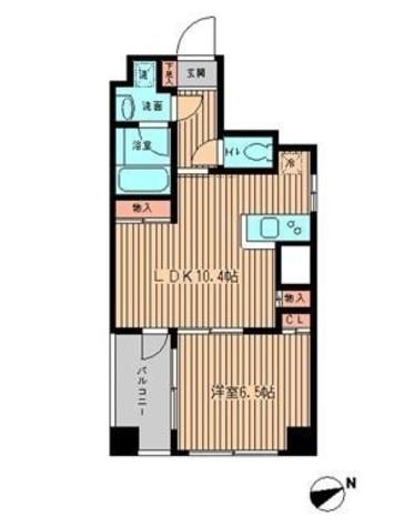ミテッツァ蔵前 / 8階 部屋画像1