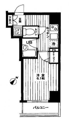 スパシエ横浜吉野町ステーションプラザ / 402 部屋画像1