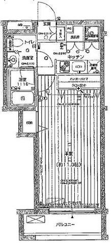 パレステュディオ中目黒 / 3階 部屋画像1