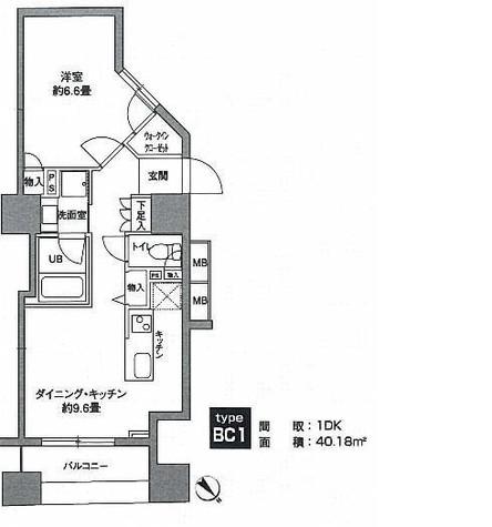 KWレジデンス新川 / 6階 部屋画像1