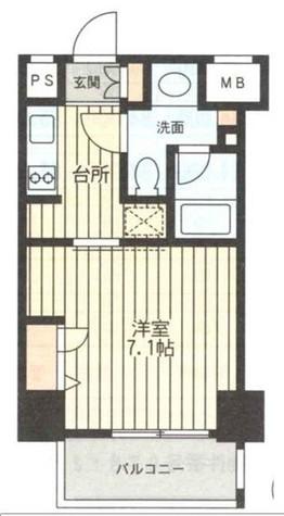 レジディア新横浜 / 1001 部屋画像1